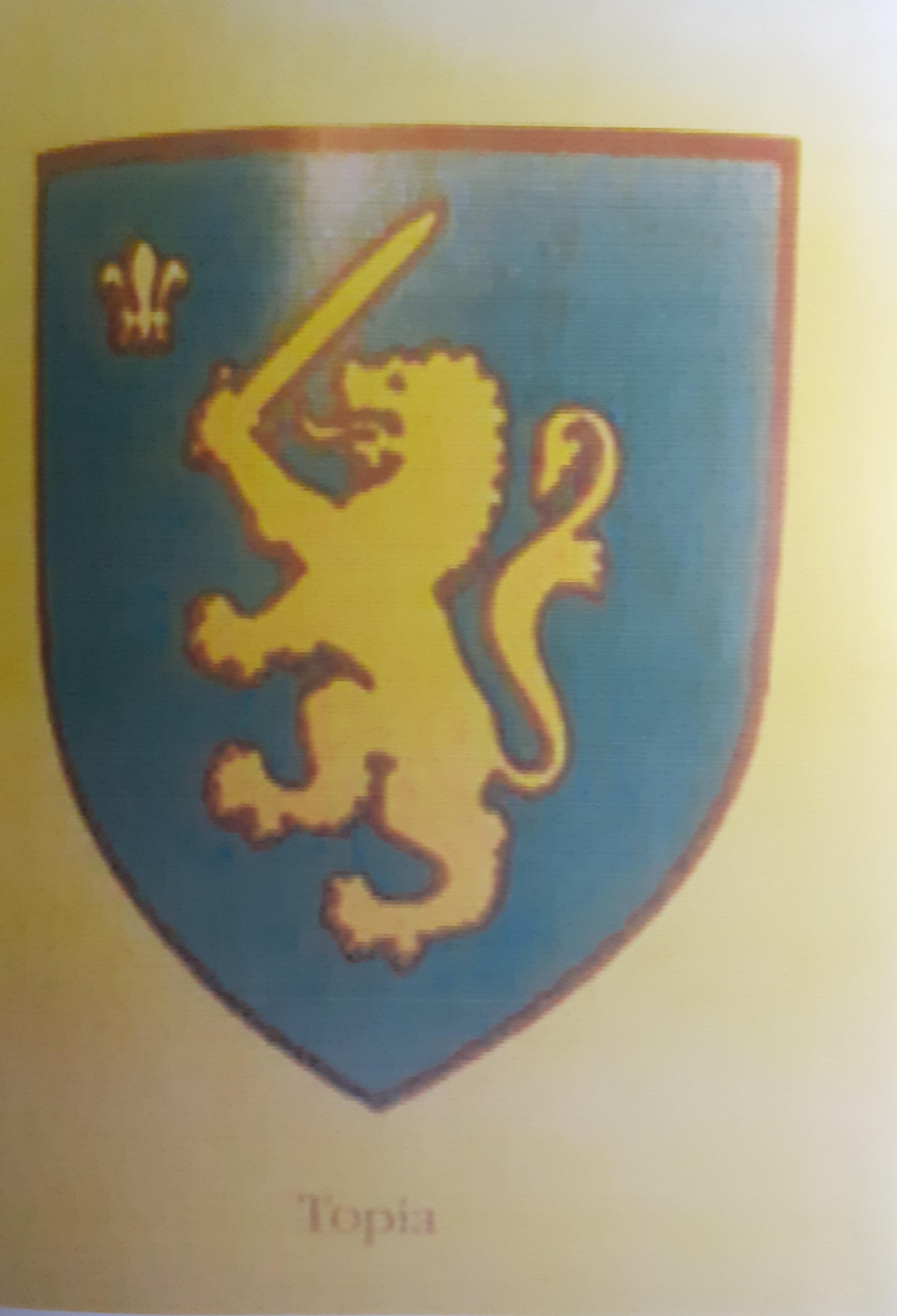 Heraldika shqiptare - Gjin Varfi